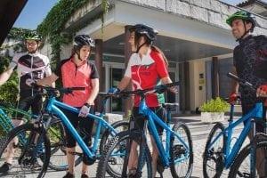 Lobios Caldaria Hotel Balneario Bikefriendly