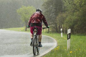 Salir en bici cuando llueve o hace frío