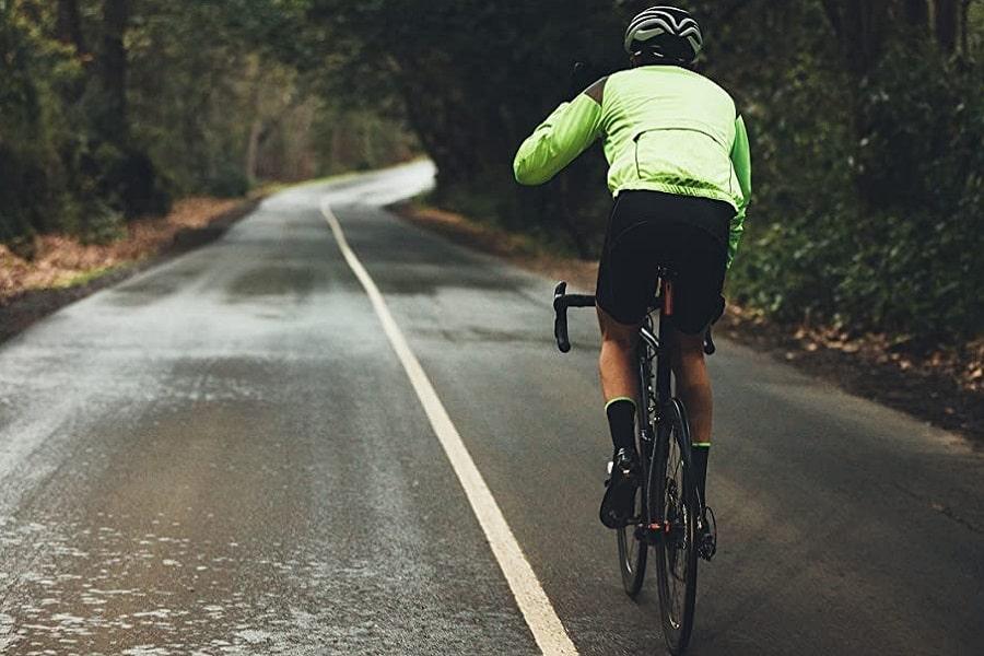 Pedalear con lluvia