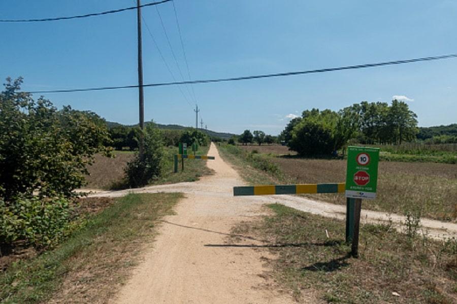 Garrotxa, ,vía verde del Carrilet